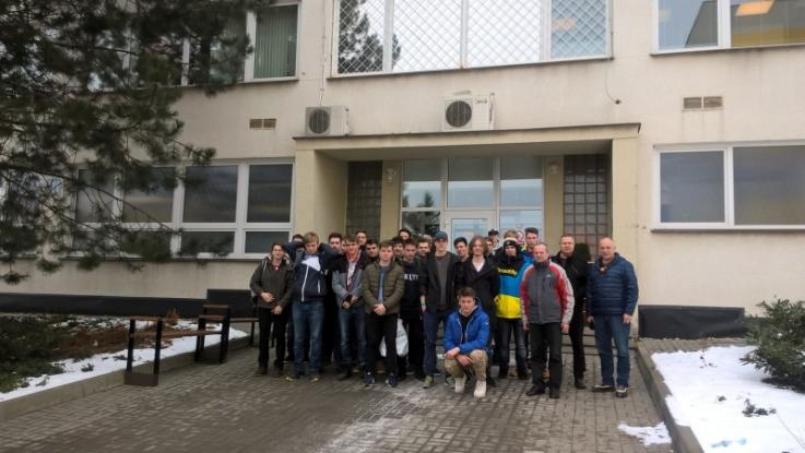 Exkurze studentů zaměření Výpočetní technika a automatizace
