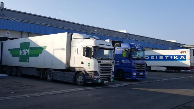 Exkurze do logistických podniků
