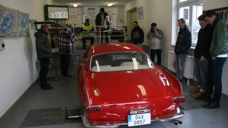 Testování historických vozidel