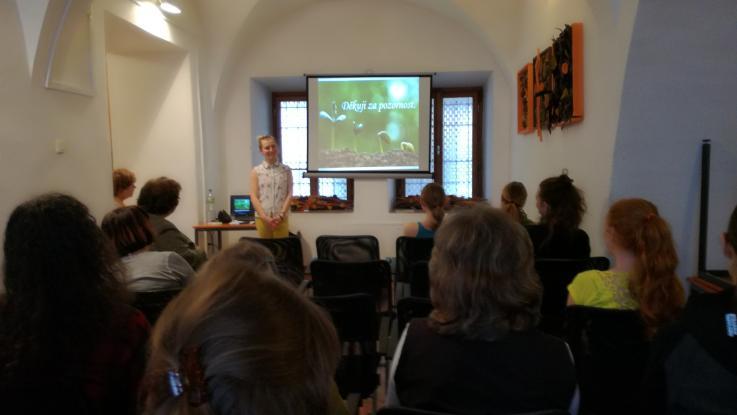 Studentská přednáška v Městské knihovně Litomyšl