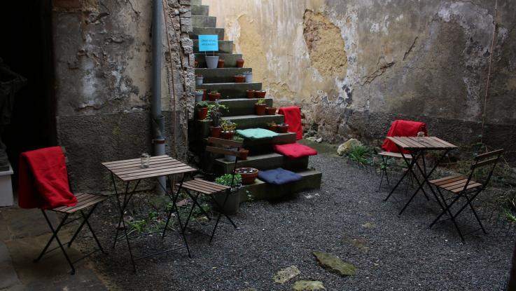 Návrh a realizace atria Městské galerie Litomyšl