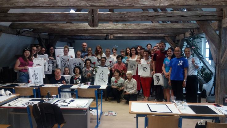 Workshop japonské kaligrafie