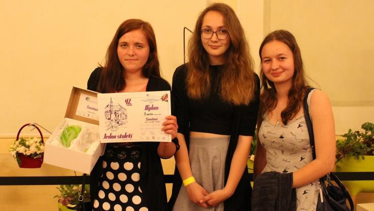 Úspěch naší studentky na mezinárodní soutěži ve floristice