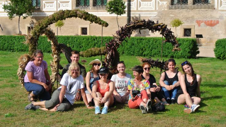Florální objekty v Zámecké zahradě již po desáté!