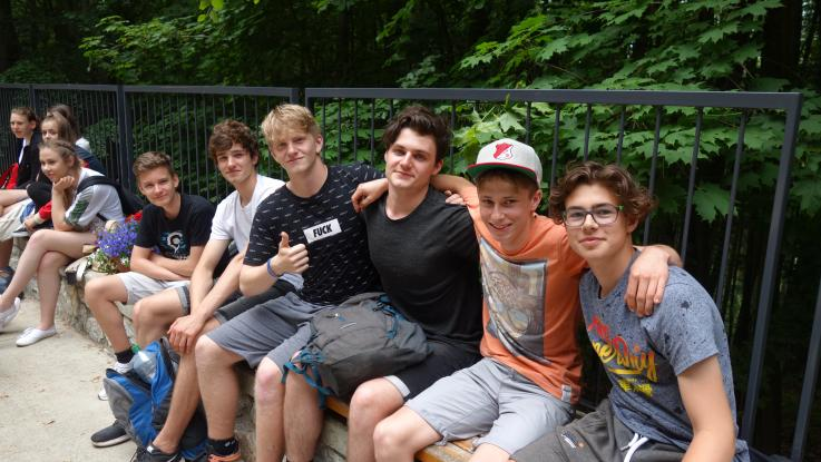 Návštěva studentů z Bavorska