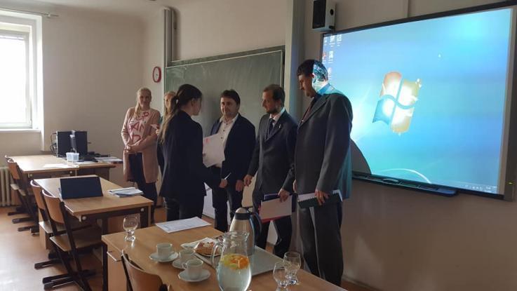 Republikové kolo Středoškolské odborné činnosti a 12. místo