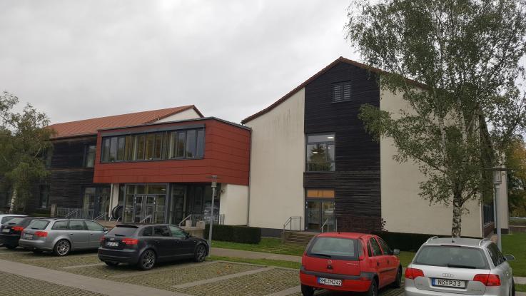 Technici v partnerské škole v Německu