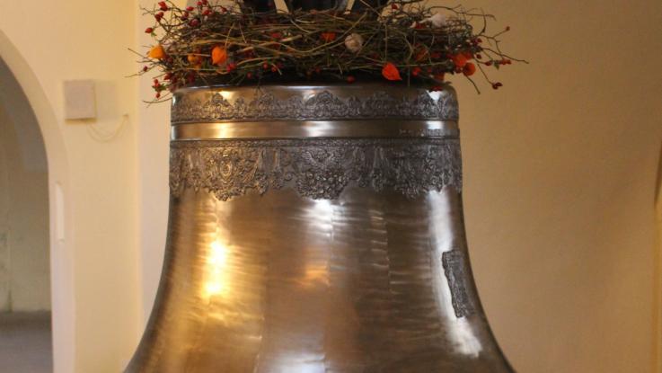 Svěcení zvonu v Čisté