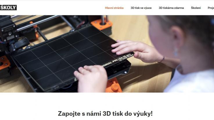 Další 3D tiskárna od firmy Prusa3D