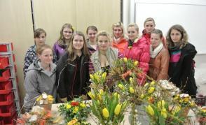 Jarní vázání - 2014