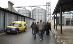 Exkurze do posklizňové linky ZD Dolní Újezd