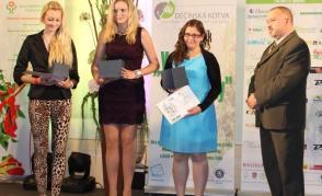 Děčínská kotva 2014 - mistryně ČR ve floristice - Jana Lenochová