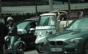 Dopravní špička v Paříži