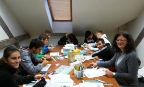 Zpracování projektu italských studentů