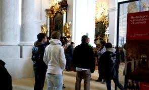 Barokní skvost - Piaristický chrám Nalezení sv. Kříže