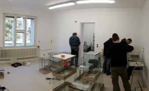 Nově dokončená učebna v budově technických oborů