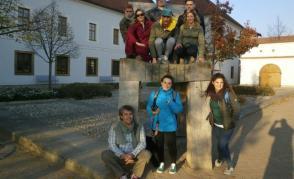 Italská skupina v Klášterních zahradách