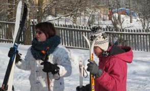 Lyžařský výcvikový kurz - Babí 2012