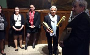 Uvítání na radnici v Amboise