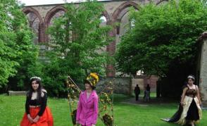 Aranžování v Sázavském klášteře