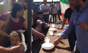 Studenti zahraničních škol na Gastro festivalu