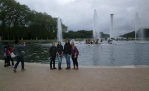 Hlavní fontána při pohledu do zahrad, Versailles