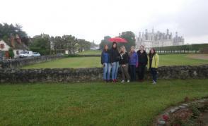 Pohled na zámek Chambord