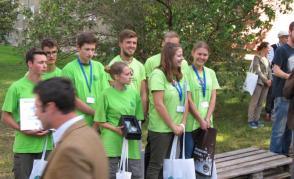Na stupních  vítězů studenti z Litomyšle