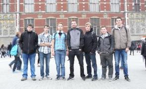 Stáž studentů technických oborů v Holandsku