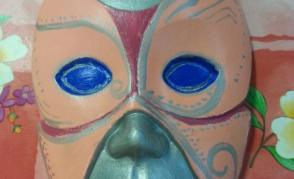 sádrová maska
